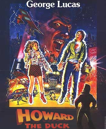Howard The Duck Movie Poster Howard the Duck 1986