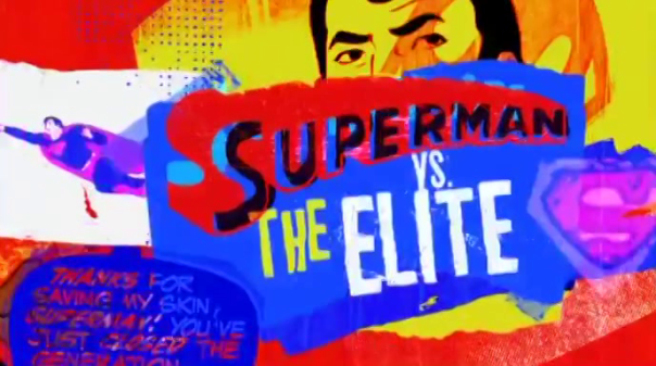 Superman vs the Elite