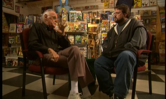 STAN LEE SPEAKS TO KEVIN SMITH ABOUT THE MARVEL UNIVERSE