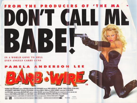 Barb wire flights tights and movie nights