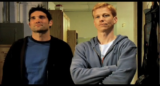 Dan Poole and Derek Minter as Derek and Jay Powers