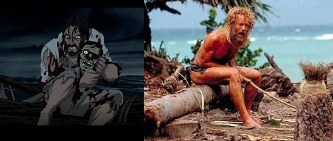 The captain never loses him like Tom Hanks did either.