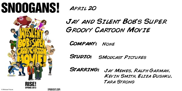 Jay and Silent Bobs Super Groovy Cartoon Movie
