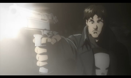 Hey look, it's anime Punisher.