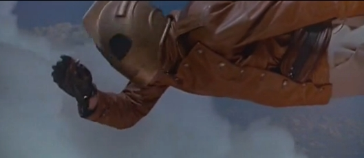 Rocketeer flying