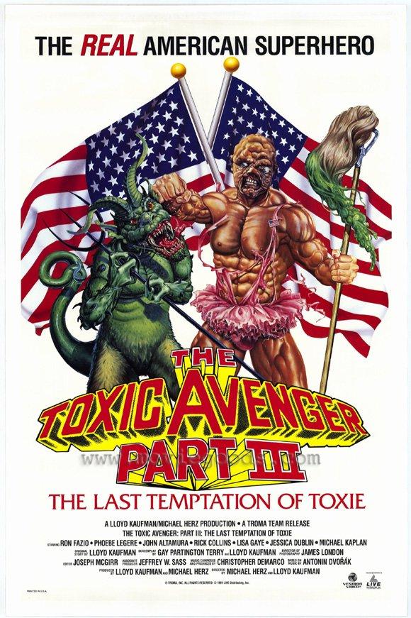 Toxic Avenger (Cine de Culto)- Saga Completa Brrip