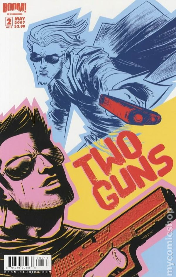 The comic book sequel is called 3 Guns.
