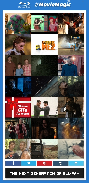 Click on the image to check out GIFs of the movies available to win as well as clips and behind the scenes footage.