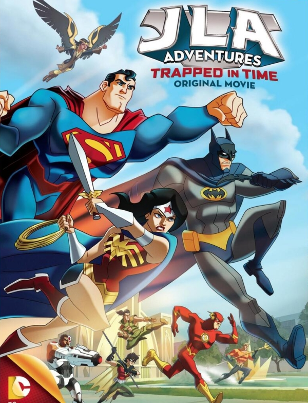 JLA Adventures Trapped in Time