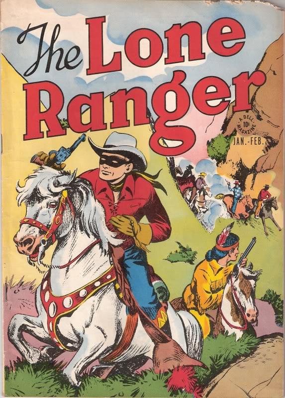 Lone Ranger Comic