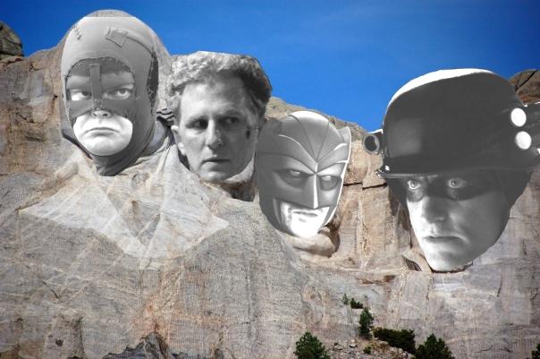 Rushmore superheroes