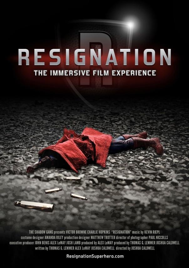 Resignation Poster