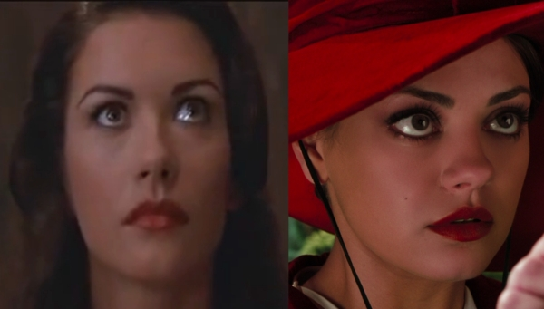 And is it just me, or does a young Zeta-Jones look an awful lot like Mila Kunis?