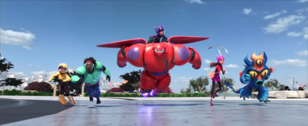 Big Hero 6 Team