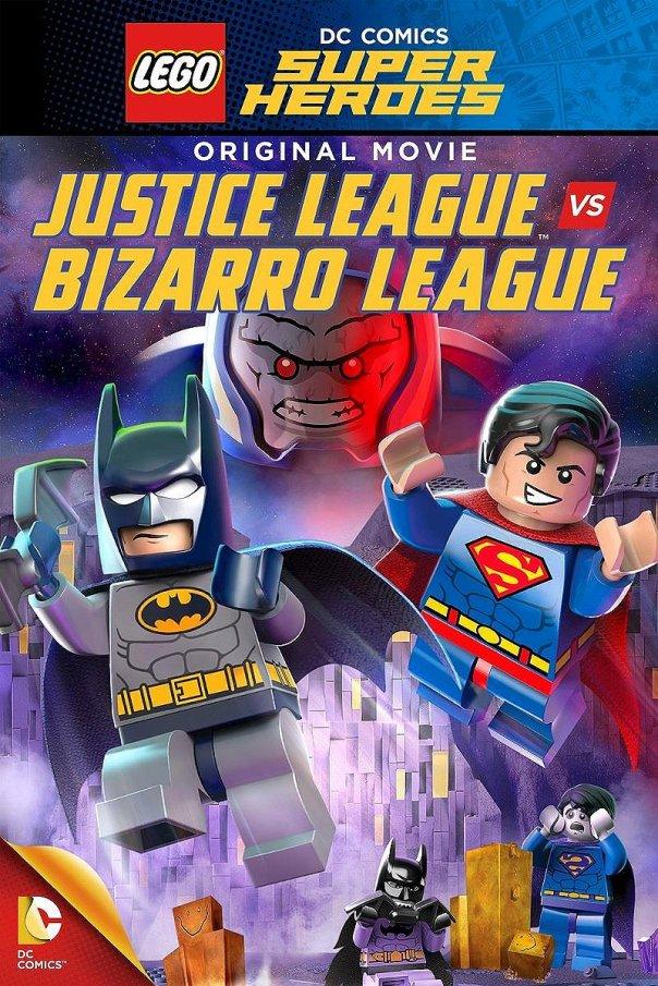 Lego Justice League vs Bizarro League