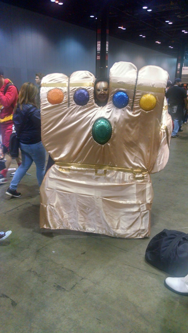 Someone look out for a giant Thanos who fits this Infinity Gauntlet!