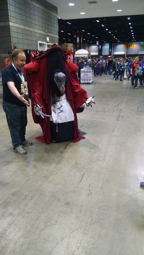 Just had to get a picture of the Skeksis!
