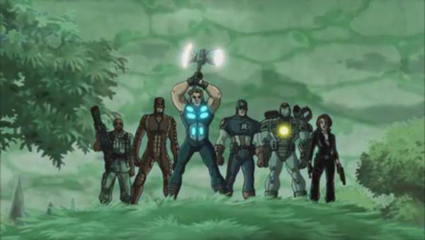 Avengers 2 group