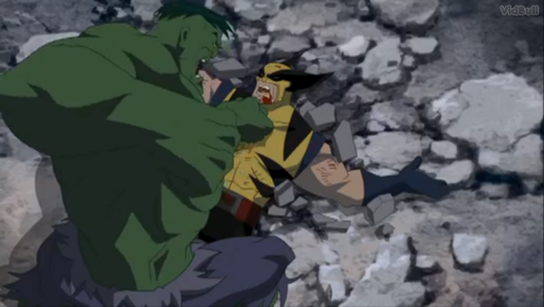Image result for hulk vs wolverine