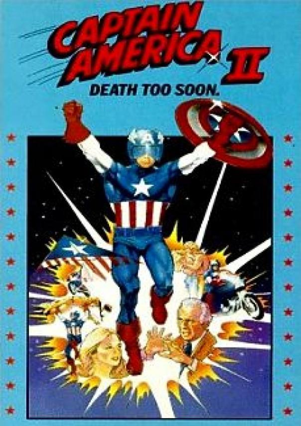 Captain America Death Too Soon
