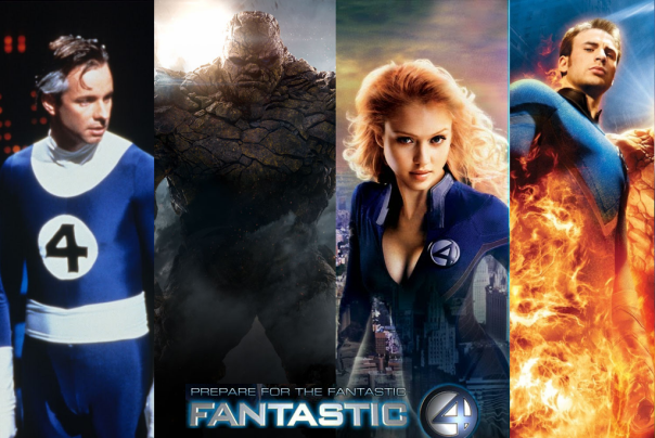 Fantastic Four all Four
