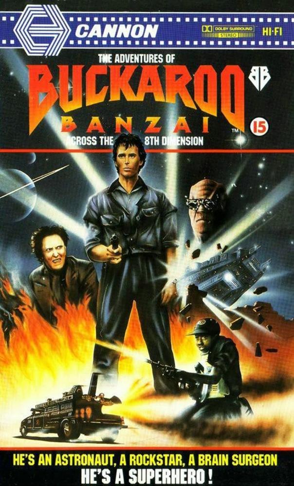 Buckaroo Banzai Cannon VHS