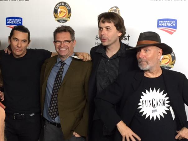 L to R: Jimmy Duval, Dana Gould, Andrew Kasch, John Skipp