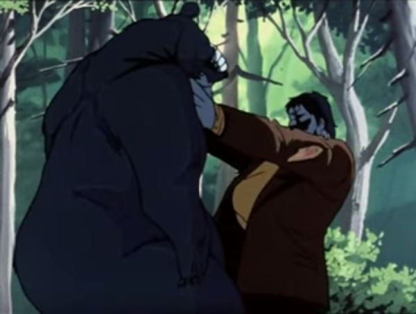 Where else are you going to see Frankenstein's monster fight a bear?