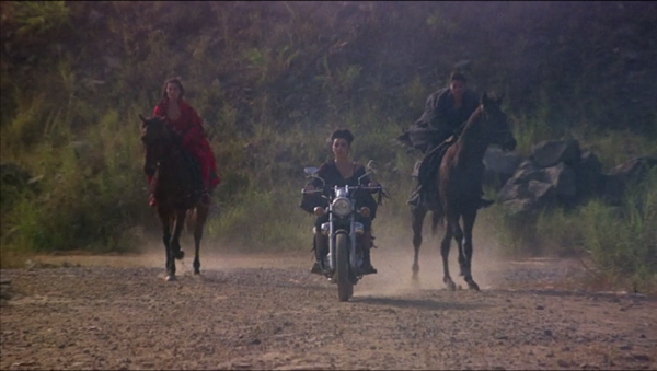 heroic trio horses