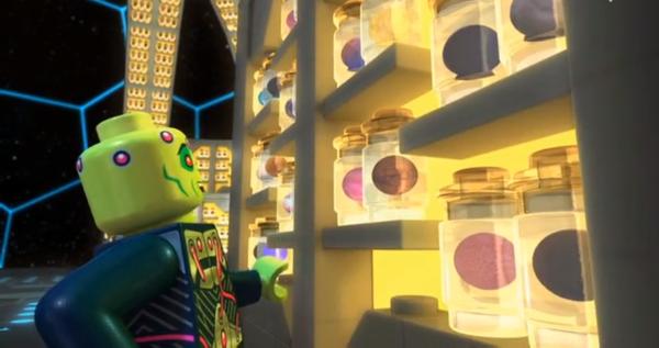 Lego brainiac planets