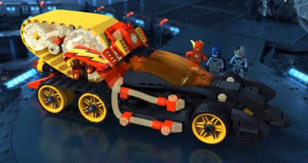 Lego Time treadmill