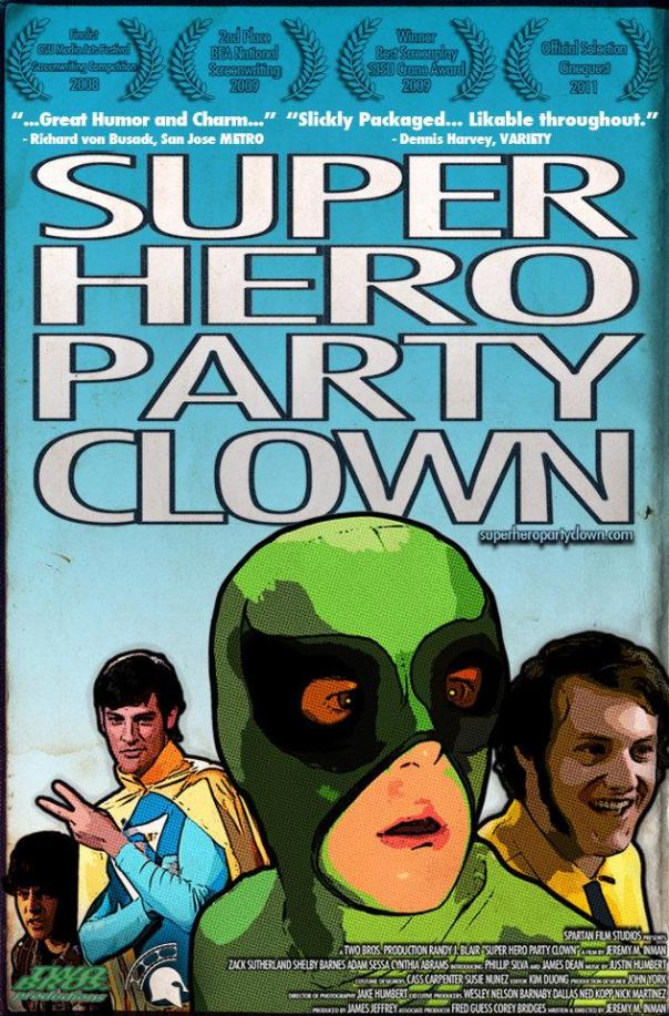 Superhero Party Clown