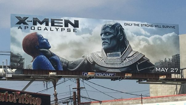 X-Men Billboard