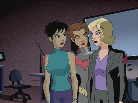 Batwomen trio