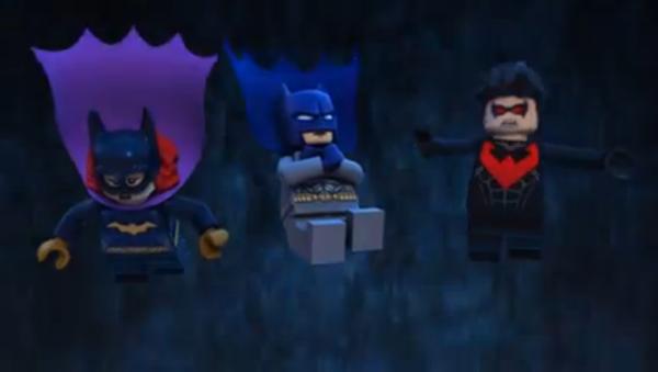 Lego Gotham falling