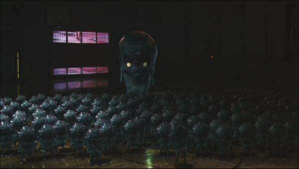 Zebraman aliens