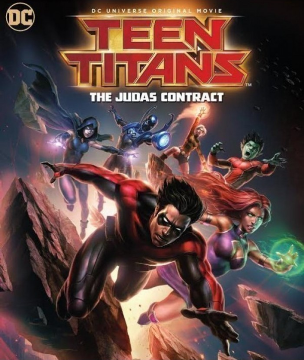 Teen Titans the Judas Contract
