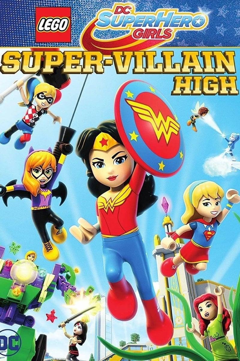 Lego Dc Superhero Girls Super Villain High Flights Tights And Movie Nights