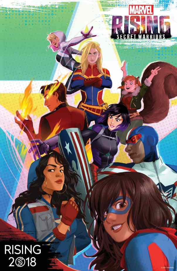 Marvel Rising Secret Warriors