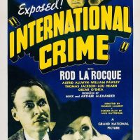 (The Shadow) International Crime